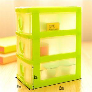 2020 Горячие Практические Съемные DIY Desktop Storage Box прозрачный пластиковый ящик для хранения ювелирных изделий Организатор держатель шкафы Предметы