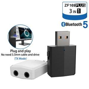 Cgjxs3 في 1 بلوتوث 5 .0 استقبال الصوت ستيريو الارسال 3 .5mm الناقل التسلسلي العام محول بلوتوث اللاسلكية للحصول على جهاز التلفزيون عدة السيارة سماعات