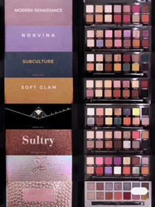 Best Makeup Eyeshadow 14 Colors Eye shadow Palette with brush Riviera Aina Alyssa Eyeshadow Shimmer Matte Shiny beauty hills eye shadow