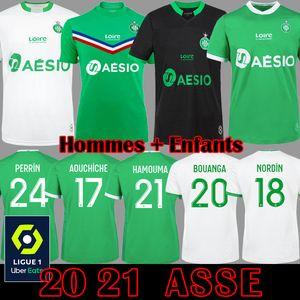 Le Coq Sportif AS Saint Etienne Maillot ASSE 2019 2020 Fußballtrikots 19 20 KHAZRI CABELLA BERIC NORDIN HAMOUMA Fußballtrikots Ausrüstung Tops T-Shirts