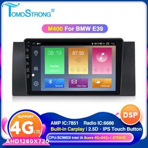 TOMOSTRONG IPS DSP Android 4 Go 64 Go DVD de voiture Lecteur multimédia pour E38 E39 E53 M5 GPS Navigation support carplay 4G LTE