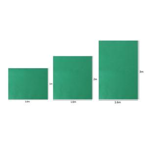 Yeşil Fotografik Arkaplan Bezi Pamuk Fotoğraf Arka Plan Katı Renkli Fotoğraf Ekran Arka Plan Bezi İçin Fotoğraf Stüdyosu