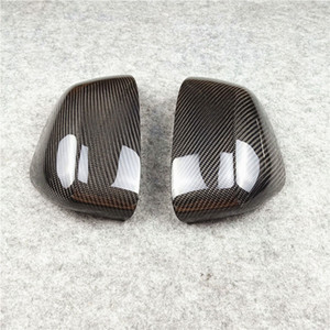 New Original Style Car Side Mirror Housings For B-MW X3 X4 F25 F26 Real Carbon Fiber Rearview Wing Mirror Cover 2014-2018