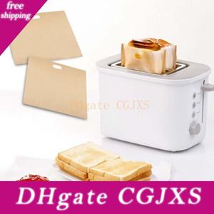 토스터 가방 구운 치즈 샌드위치 가방 재사용 가능한 비 - 지팡이 토스터 가방 구워 토스트 빵 가방 토스트 전자 레인지 난방 Bh3058 Tqq