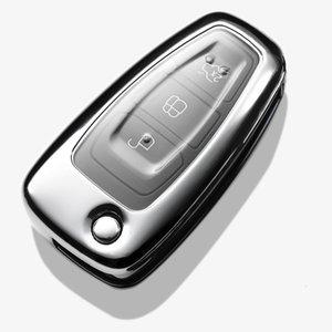 حامل 2019 الجديدة لينة TPU مفتاح حالة تغطية ل FORD C-MAX FOCUS RS ST العيد هاتش 2011 2012 2013 سيارة سلسلة المفاتيح مفتاح كاب غطاء