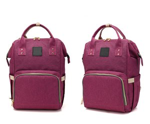 Hot Sale Fashion Multifunctional Baby Diaper Backpack Babybottle Bag Changing Bag Mummy Bag Backpack Nappy Mother Maternity Backpacks