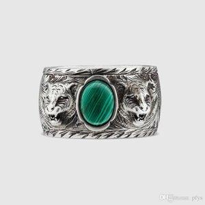 Alta calidad 925 silverJapanese-Corea esterlinas hombres de las mujeres y de los amantes de plata anillo de la marca de moda hombre de estilo británico r vieja de la vendimia