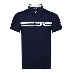 Homens de manga curta esporte t-shirt de golfe rápida 4 cores tamanho solto jl roupas de golfe s-xxl em escolha esporte lazer camisa de golfe de lazer