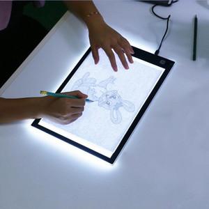 LED gráfico de la tableta de escritura Pintura Dibujo Caja de luz de Búsquedas copia bordo de ratón digital de la tableta Artesanía A4 Copiar tabla Junta de iluminación LED