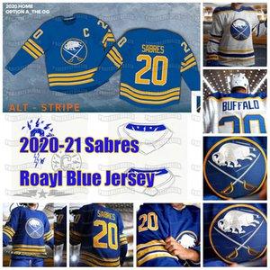Jack Eichel Buffalo Sabres 2020 21 Revenir à Royal Blue Rasmus Dahlin Jeff Skinner Wayne Simmonds Kyle Okposo Rasmus Ristolainen Jersey