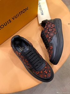 Mode Hommes Chaussures Gumboy Sneaker à lacets Top Casual Luxe Chaussures Hommes Footwears Origine Boîte Taille 38-45