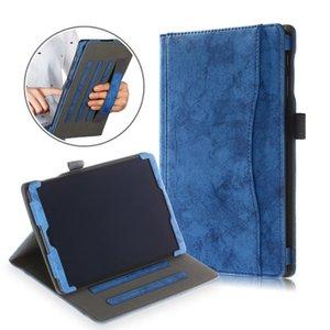 Cgjxs Fall für Samsung Galaxy Tab A 2019 10 .1 T510 T515 PU-Leder-Tablet-Abdeckung für Samsung Tab A 10 0,1 2019 Fall T190710