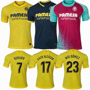 2020 Maglie 19 20 IBORRA MORENO S.CAZORLA casa lontano gli uomini di calcio e bambini camicia 2021 Villarreal CF Calcio