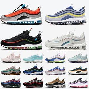 scarpe nike air max 97 air 97 stock x gs sky michigan scarpe da corsa da uomo in tutto il mondo nero bianco iridescente a malapena rosa moda donna scarpe da sportive