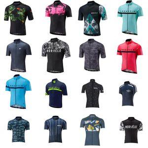 Cyclisme à manches courtes Maillots Hommes vélo Chemises VTT Vélo Vélo Jeresy extérieur sportwear Ropa s20070611