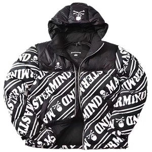 FASHION- X Mastermind MMJ Skull Nuptse Down Jacket Logo broderie Coats couple manteau d'hiver Montagne vêtement chaud Mode HFLSYRF060