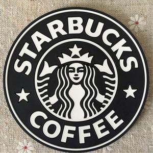 PVC Altlıkları Kupası termo Yastık Tutucu Starbucks deniz hizmetçi kahve Altlıkları Kupası MatNon atımlı seramik su bardağı kupa süt treni hızlı gemi