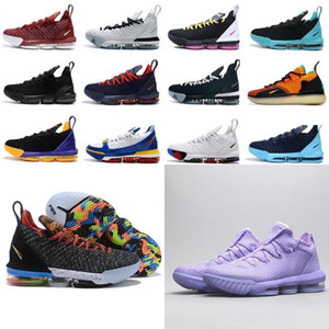 2020 novo James 16s tênis de basquetelebron 16 Homens Tribunal exterior formadores sneakers chaussures esportes sapatos tamanho 40-46 X1Oa #