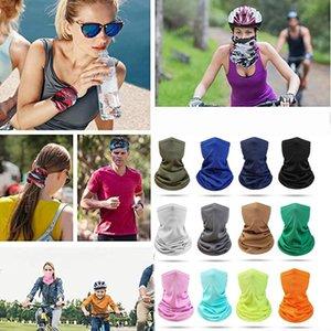 Gesichtsschutz Outdoor Sports Magie Turban Mesh-Breathable Multifunktions Gesicht Schal Lätzchen Kopftuch Riding Gesichtsmaske DHF953