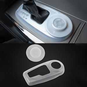 Для Nissan Patrol Y62 INFINITI QX80 Armada переключения передач Панель крышки мягкой резины Интерьер пыле Коробка передач Авто