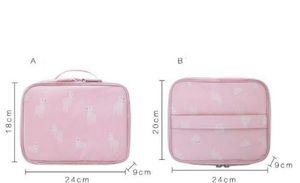 Travel Cosmetic Bags Portable Bags Hand-held Small Lady Mini Cosmetic Washing Bag Portable Bag Hand-held