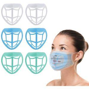 3D Maske braket Trump Biden Ruj Koruma İç Destek İçin Freely Yüz Maskeleri Tutucu Aracı Accessories200pcsT1I2490 Breathe Maske Standı