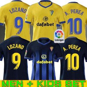 2020 كاديز بالقميص لكرة القدم نادي قادش 20 21 LOZANO ALEX Bodiger خوان كالا CAMISETA ASCENSO A LIGA SANTANDER دي فوتبول قمصان كرة القدم