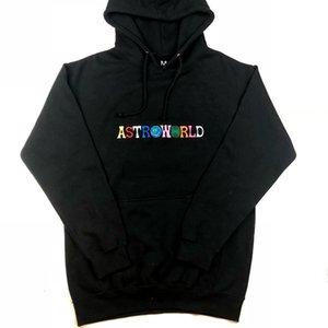 Hot Hot 2020 Marque Rapper Astroworld Hip Hop Sweats à capuche de haute qualité des femmes des hommes Sweat à capuche Homme Imprimer Lettre de broderie Hoodies Veste