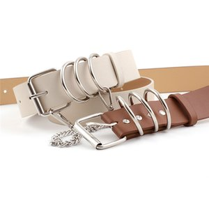 PU Leather Belts For Women Metal Heart Buckle Corset Female Belt Wedding Dress Party Decor Waistband Ladies Belts