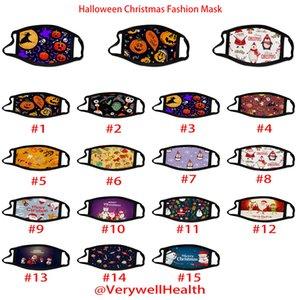 мода Хэллоуина маски для лица Для взрослых детей Рождества Маски Моды 3D печати Anti-пыль дышащей Washable маски Бесплатной доставки через DHL