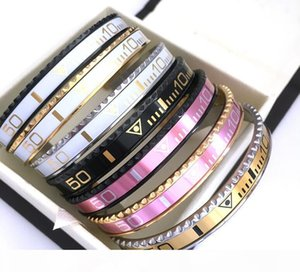 Fashion Design Unisex High Quality Titanium Steel Pink Gold Black Water Ghost Dial Speed Bracelet Jewelry Free Shipping