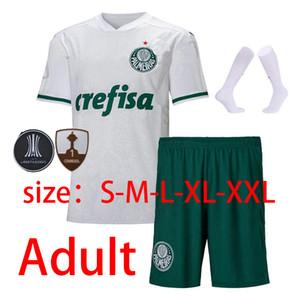 homme kit enfants + chaussettes 2020 2021 Palmeiras maillots de football 20 21 SE Palmeiras maison loin Dudon Deyverson LUCAS LIMA Willian 2021 chemises de football