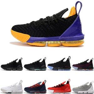 Мужские THRU 5 LE J 16 мужской баскетбольной обуви ЧТО Тройной черный Бред Oreo на открытом воздухе тренажеры спортивные мужчины спортивные тапки