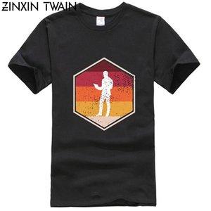 Mode Rétro Hacker Hexagone T-shirt en vrac Taille 94xl Comical T-shirt Hommes Harajuku Homme T-shirts