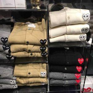 fXa2A pull Fashion jeu de la marque Chuanjiu Couple et pour les hommes des femmes manteau cardigan pull court Baoling deux lâche usure manteau de laine d'amour
