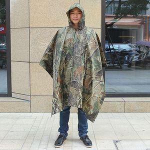 NJce5 New exterior Yiwu espessa corpo Corpo roupas roupas Cloak camuflagem PVC macacão manto biônico adulto