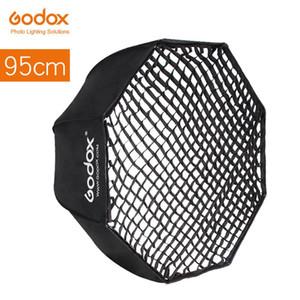"""Godox Портативный 95см +37,5"""" Honeycomb Сетка Зонт Softbox Фотография Softbox Отражатель для вспышки Speedlight"""