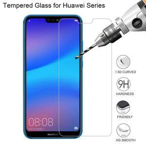 Screen Protector для Huawei P20 Lite P10 Plus 9Н фильм Сотовый телефон стекла на Huawei Honor 8 9 10 P9 Lite закаленное стекло для P20 Pro P10