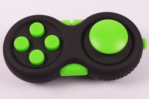 New Plastic Game handle Multi Color Fidget Pad decompression handle Toy for Kid Game Gift Wholesale