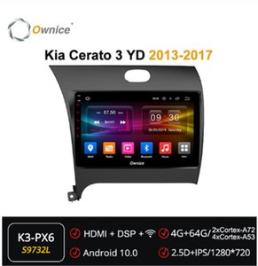 Ownice 4GB+64GB Android 10.0 Octa core Car radio player DVD GPS Navi For Kia Cerato 3 YD 2013-2020 DSP 4G Multimedia