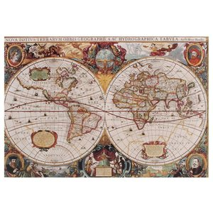 Adult Decompression difficult puzzle 1000 pieces of paper puzzle Intelligence Creative toys animation landscape and order types