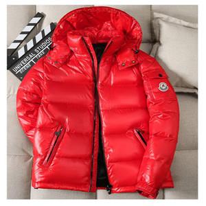 Высокое качество Новые зимние мужские гуся вниз фугу куртка Повседневный Марка толстовки вниз ветровки Теплый Лыжный Мужские ветровки 200