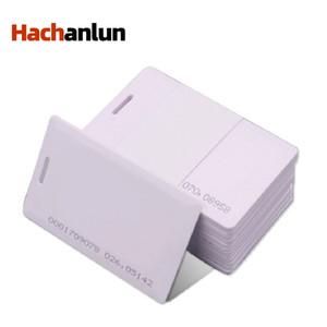 50 / 100pcs RFID 1.8mm Aufkleber Key Fob Token Ring Proximity Chip EM4100 TK4100 125kHz Zugriffssteuerkarte