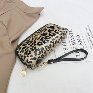 Fashion exquisite leopard print women's shell bag elegant elegant women's dinner bag