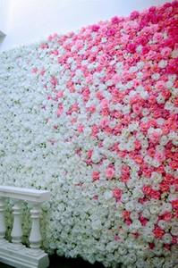 19style 8CM Artificial Roses Flower Heads Cloth FlowersDecorative Flowers Wedding Centerpieces Bouquet DIY Fake Wreath T2I5594 plZo#