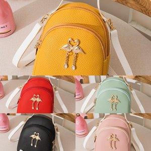 2020 Pendant çantası yeni küçük sırt çantası çanta kadın moda kuğu kolye rahat omuz haberci çantası sırt çantası