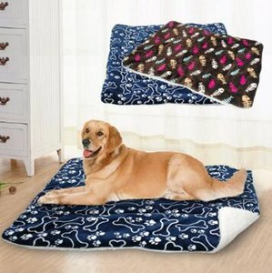 Big Dog Pet Bed Мат Дом Cat Матрас Собака Кровати диван моющийся для Маленький Средний Большой Собаки Мата DLa