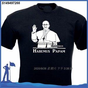 Hot 2020 Estate uomini della maglietta della stampa di modo di stile di estate T-Shirt manica corta Papst Papa magliette del cotone Abbigliamento Uomo 190.279