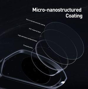 Baseus 2Pcs 0.15mm Car Rearview Mirror Protective Films Anti Fog Window Foils Waterproof Rainproof Protective Car