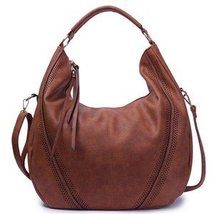 Borse in pelle di alta qualità SGARR Moda womnen PU signore di grande capienza del sacchetto di spalla casuale Borse Vintage Femminile Hobos Tote MX200817